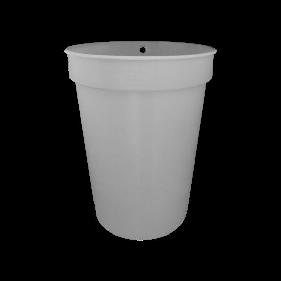 Picture of 2 GALLON GRAY PLASTIC SAP BUCKET