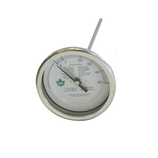 "Picture of THERMOMETER 3"" X 9"" (0-50°F)"