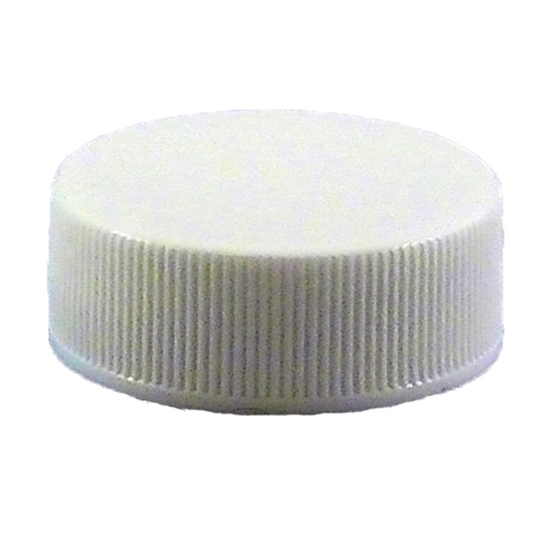 Picture of PLASTIC CAP 28-400 WHITE / BASQ.