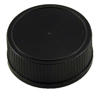 Picture of PLASTIC CAP 28MM BLACK T-E / KENT-WHISKEY