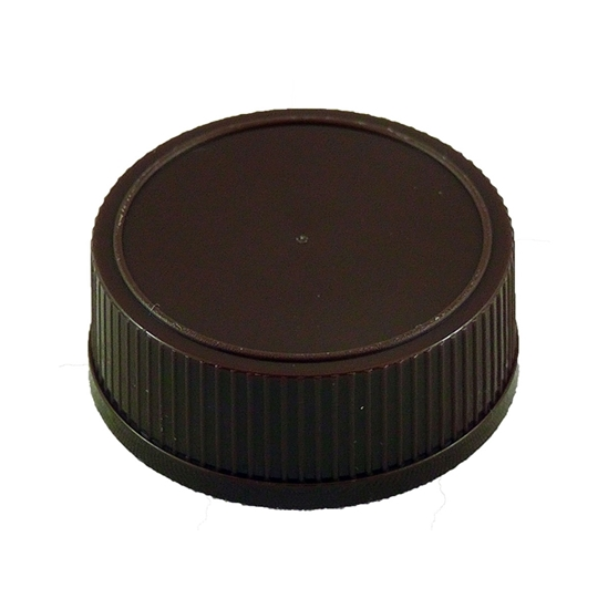 Picture of PLASTIC CAP 28-400 BROWN