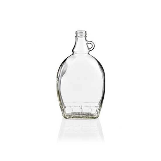 Picture of GLASS BOTTLE FLAT 375ML (CS/12)