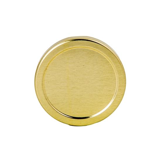 Picture of METAL LID 48TW GOLD / HEXAG. JARS 110ML