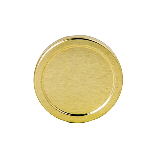 Picture of METAL LID 70TW GOLD / ROUND JAR 250ML-375ML