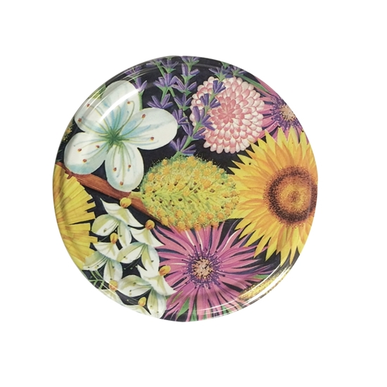 Picture of METAL LID 82MM W-FLOWER TW (FIORI RTS)