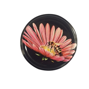 Picture of METAL LID 82MM PURPLE CONE FLOWER TW