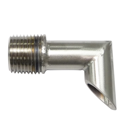 "Picture of 1/2"" MIPT DRAWOFF ELBOW 90°"
