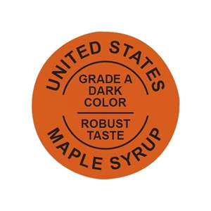 Picture of GRADING LABELS U.S. DARK
