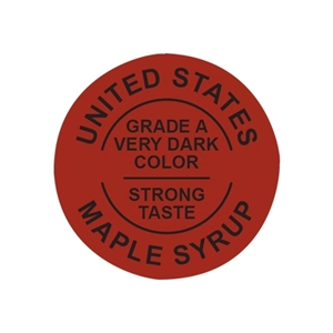 Picture of GRADING LABELS U.S. VERY DARK