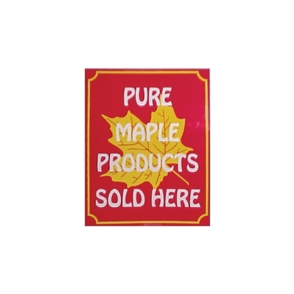 Picture of SIGN 11X13 PUR MAPLE SYRUP SOLD