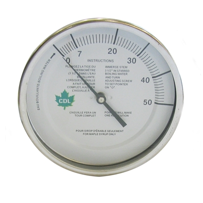 "Picture of THERMOMETER 3"" X 9"" (50°F) 1/2"" MIPT"