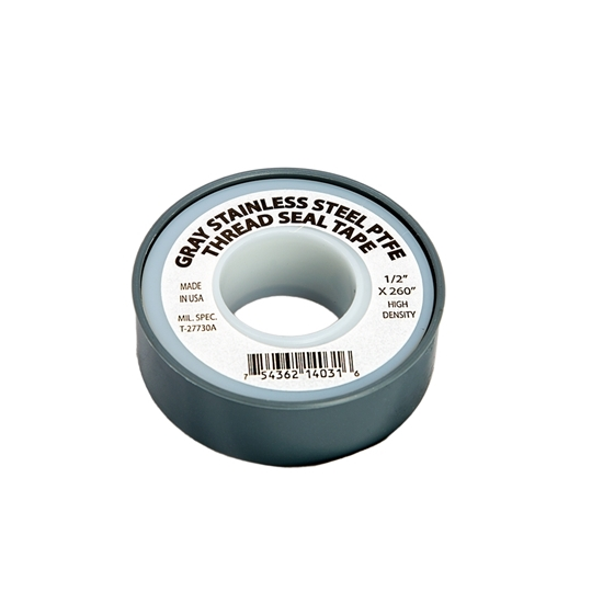 "Picture of TEFLON GRAY SEAL TAPE 1/2""X260"