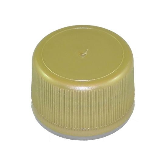 Picture of PLASTIC CAP 28TC GOLD / MAPLE