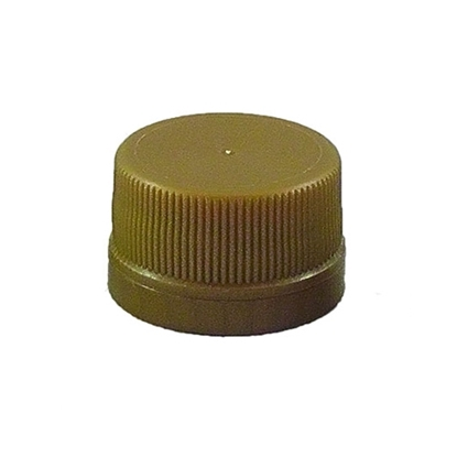 Picture of PLASTIC CAP 28MM GOLD T-E