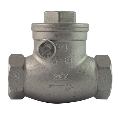 Picture of SWING CHECK VALVES -SS