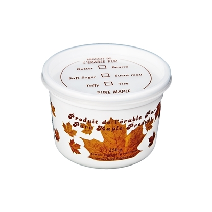 Picture of MAPLE CREAM TUB WITH COVER 250 GRAM
