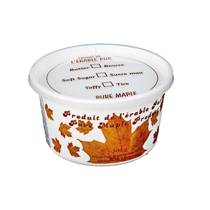Picture of MAPLE CREAM TUB WITH COVER 500 GRAM