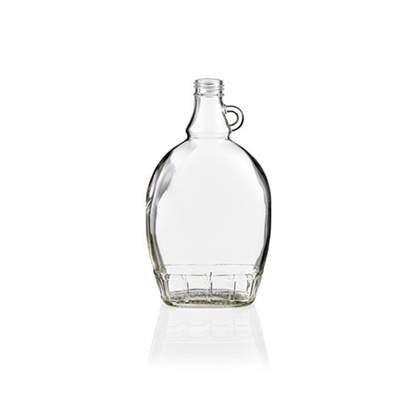 Picture of GLASS BOTTLE FLAT (ML)