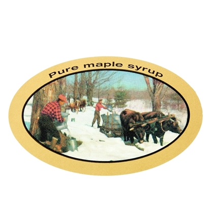 Picture of SELF-ADHESIVE LABELS PURE MAPLE SYRUP