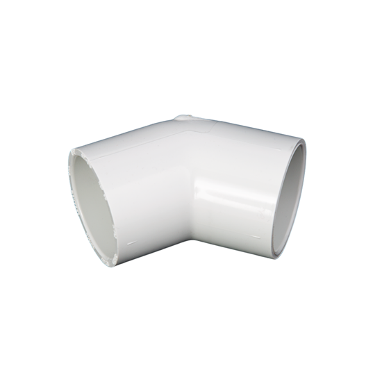 "Picture of PVC ELBOW 3"" 45° SLIP"