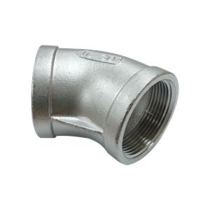 "Picture of SS ELBOW 1-1/4"" 45° FIPT"