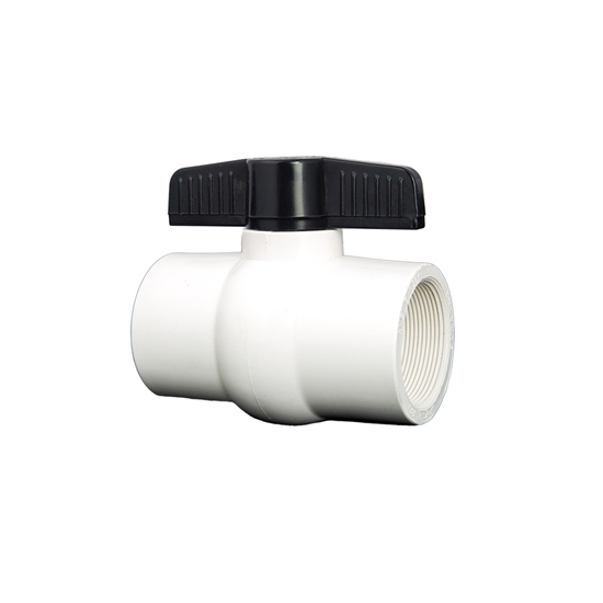 """Picture of PVC BALL VALVE 1-1/2"""" FIPT"""