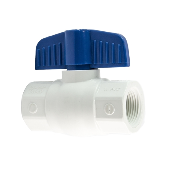 "Picture of PVC BALL VALVE 2"" FIPT HEAVY DUTY"