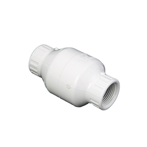 "Picture of PVC CHECK VALVE 3/4"" WHITE FIPT"