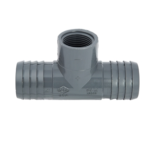 "Picture of PVC T 1-1/4"" X 1-1/4"" X 1/2"" INS-INS-FIPT"