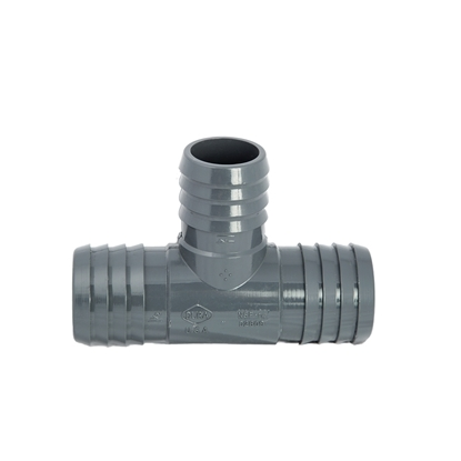 """Picture of PVC T 1-1/4"""" X 1-1/4"""" X 1/2"""" INS"""