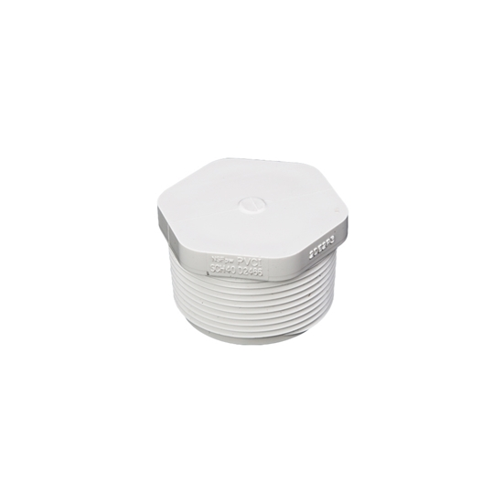 "Picture of PVC CAP 4"" MIPT"