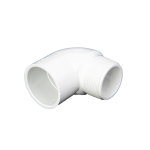 "Picture of PVC ELBOW 1-1/2"" 90° MIPT-SLIP"