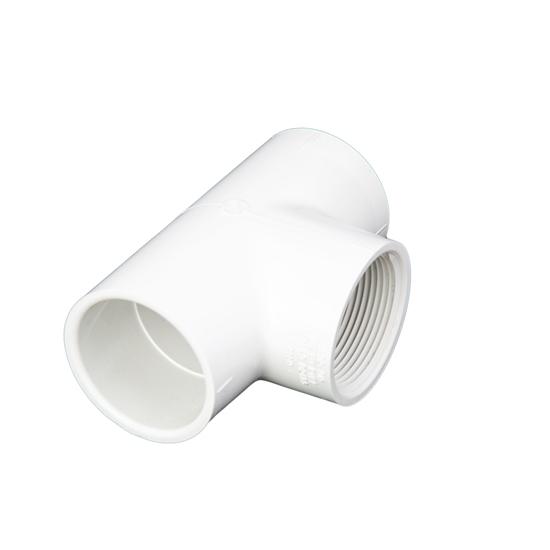 """Picture of PVC T 2"""" SLIP-SLIP-FIPT"""