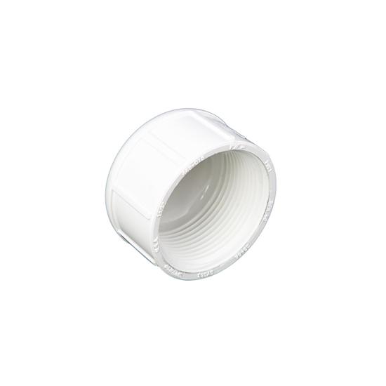 """Picture of PVC CAP 1/2""""  FIPT"""