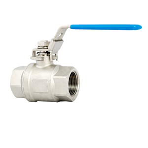 "Picture of SS BALL VALVE 1/4"" FIPT"