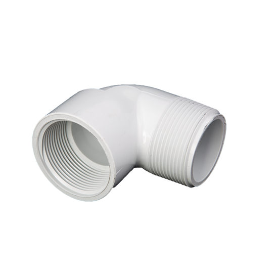 "Picture of PVC ELBOW 1"" 90° MIPT-FIPT"