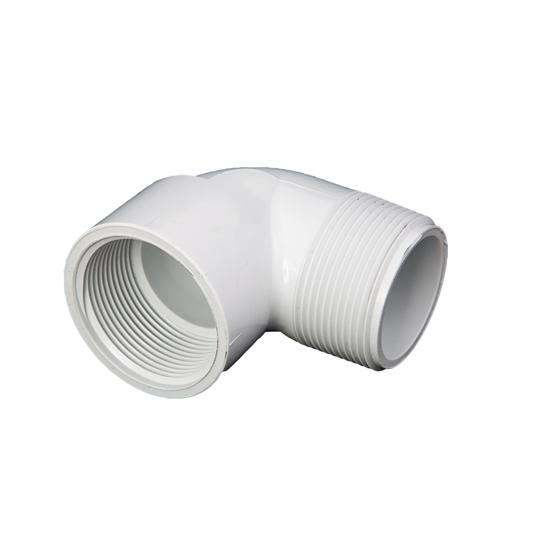 """Picture of PVC ELBOW 2"""" 90° MIPT-FIPT"""
