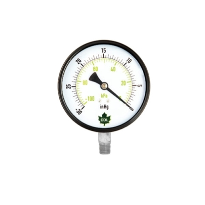 "Picture of VACUUM GAUGE 30 HG 2-1/2"" SS"