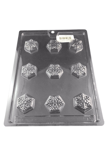 Picture of CHOCOLATE MOLD SNOW FLAKE