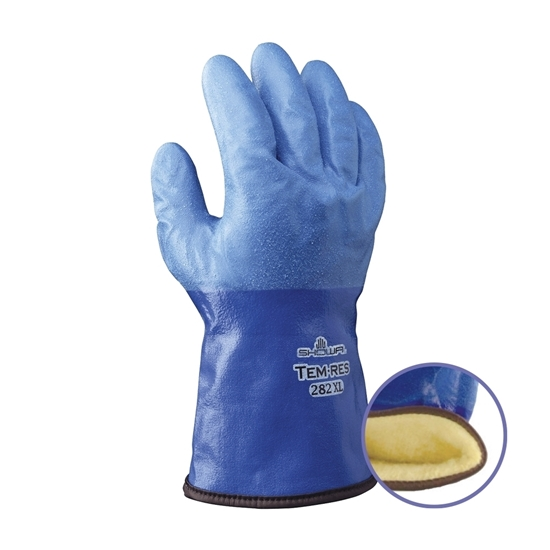 Picture of WATERPROOF THERMAL BLUE GLOVE
