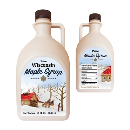 Picture of CDL JUG COLLECTION 1/2 GALLON WISCONSIN (50/CS)