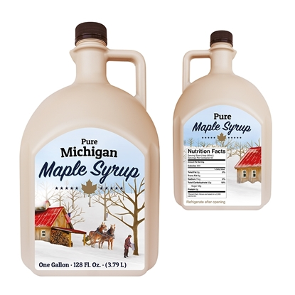 Picture of CDL JUG COLLECTION GALLON MICHIGAN (24/CS)