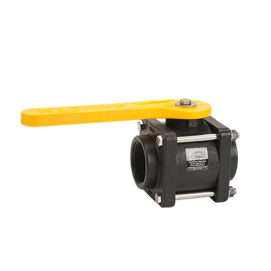 """Picture of POLYPRO. BALL VALVE 2"""" FIPT - BANJO"""